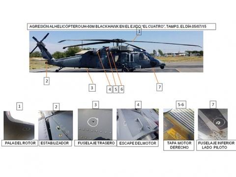 Atacan helicoptero de la Marina en Nuevo Laredo, 6 delincuentes muertos. Marina-helicoptero-balazos-1_1