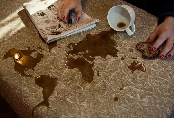 خرائط مجنونة لعالمنا المجنون وكما يقولون الجنون فنون Coffee
