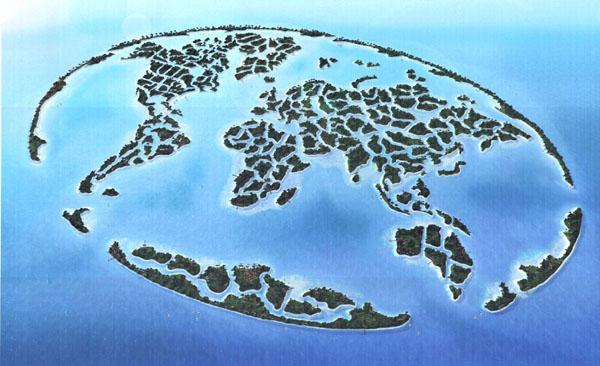 خرائط مجنونة لعالمنا المجنون وكما يقولون الجنون فنون World-of-islands