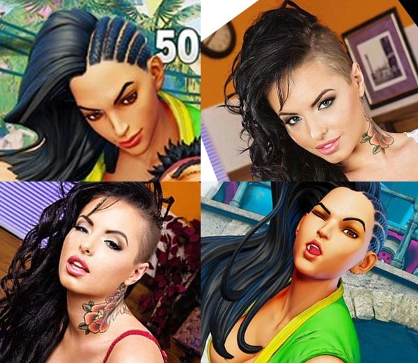 [VAZOU] Laura é nova lutadora brasileira de Street Fighter V Original