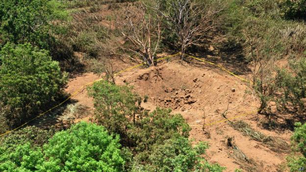 Meteorito en Nicaragua coincide con paso de asteroide por la Tierra 140908103137_meteorito_managua_crater_624x351_ap