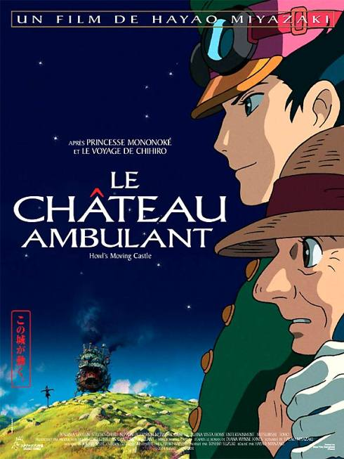 Le Château Ambulant [Ghibli] Affiche