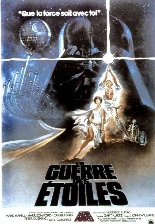 Star Wars - les six premiers films [Lucasfilm - 1977-2005] - Page 3 Affiche