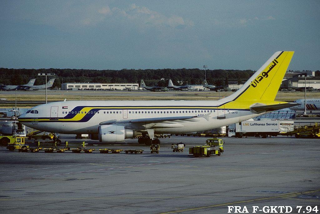 A310 in FRA Frafgktd