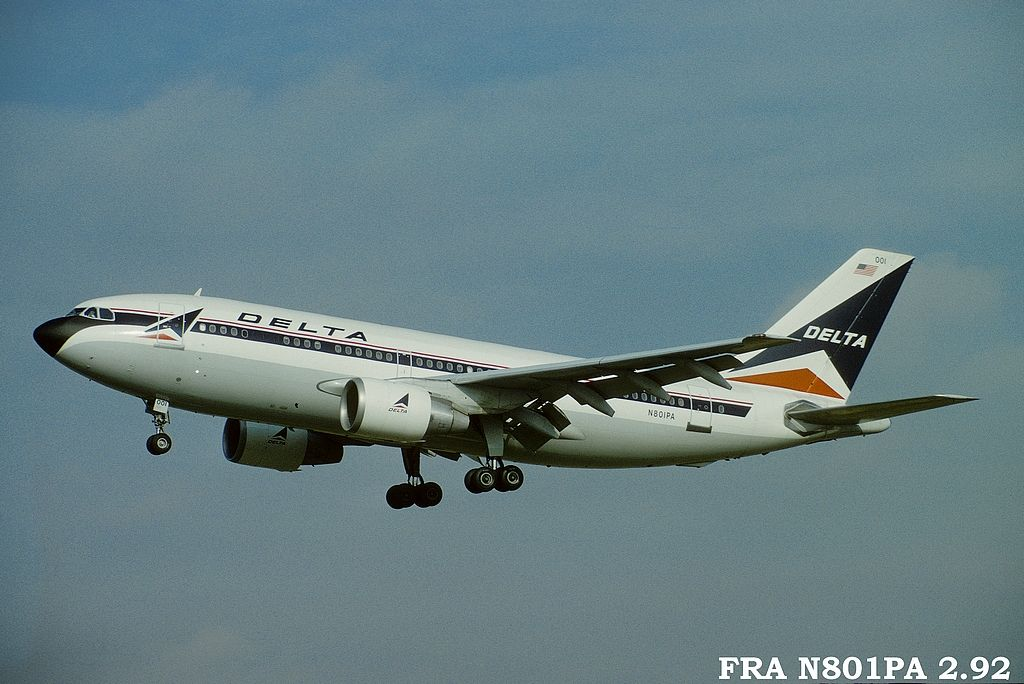 A310 in FRA Fran801paa