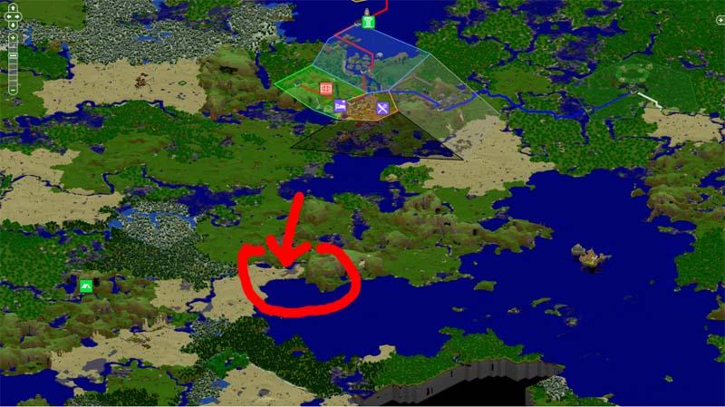 [Projet] Etretat by djcanna Map
