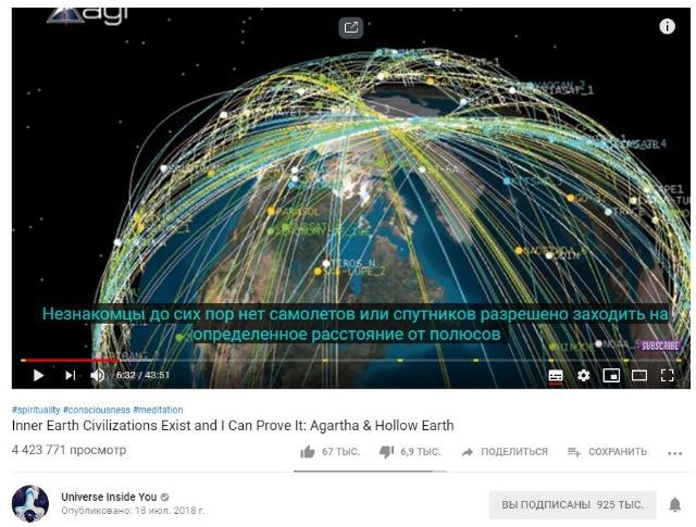 Теория полой земли или откуда прилетают НЛО? 667110132ab8