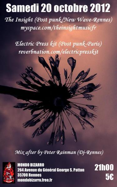 [20.10.12] ELECTRIC PRESS KIT+INSIGHT-Mondo Bizzaro-Rennes   L