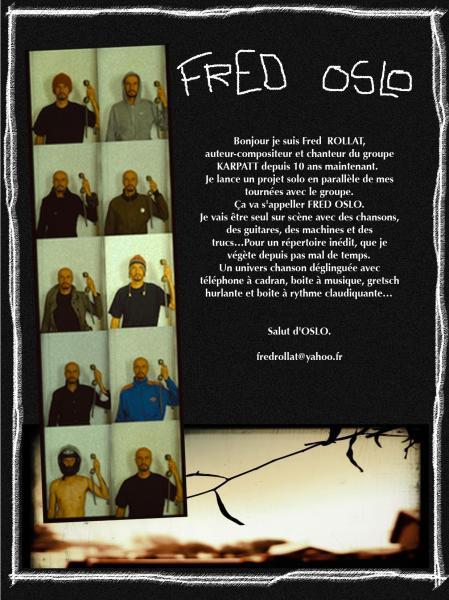 projet solo de Fred  L