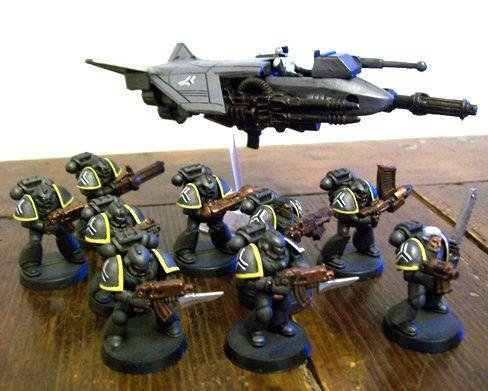 space marines Pugno-d-acciaio