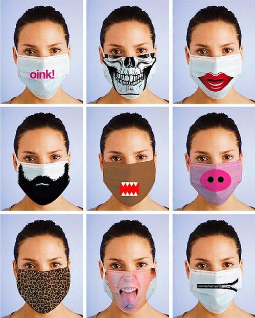 Recherche de la femme parfaite, ou presque... Masque-chirurgical-fashion