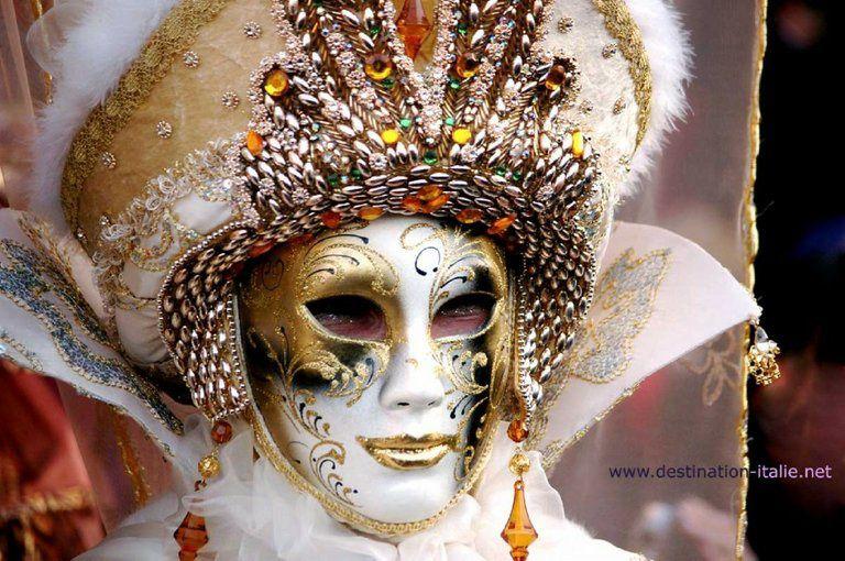 masque venitiens de la Comedia Alain-Hamon-Venise-Carnaval-masque