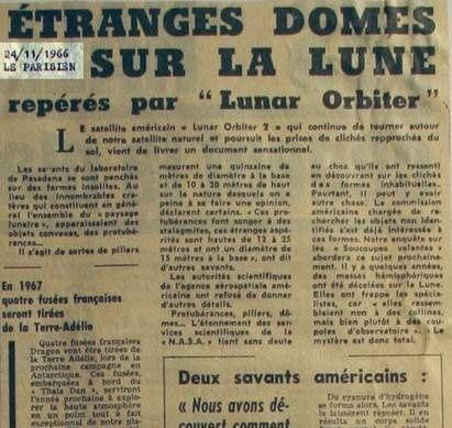 L'intelligence est-elle propre à l'Homme? - Page 8 Lune-LeParisien-24-11-1966