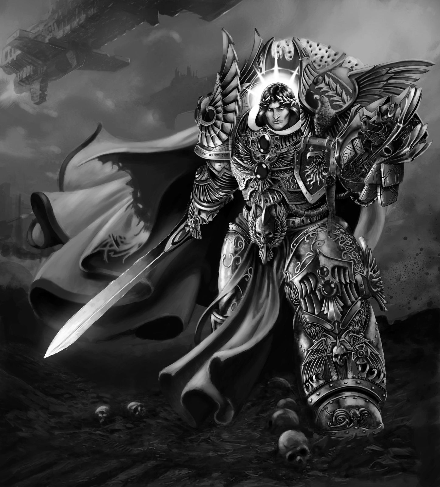 [W30K] L'Empereur de l'Humanité / The Emperor of Mankind Empereur-dieu-10