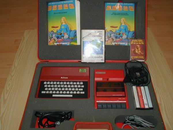 master system 1 SANS jeux intégrés ... Alice-32