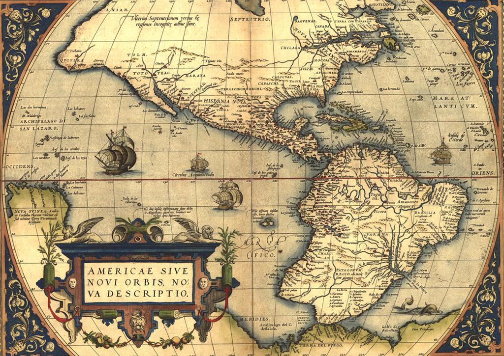Colonización española de América Nuevo-mundo