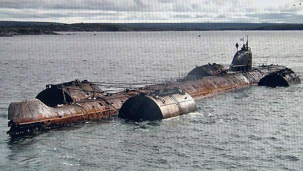 Arte révèle la présence de fûts de déchets nucléaires dans la Manche Arctique--cimetiere-atomique