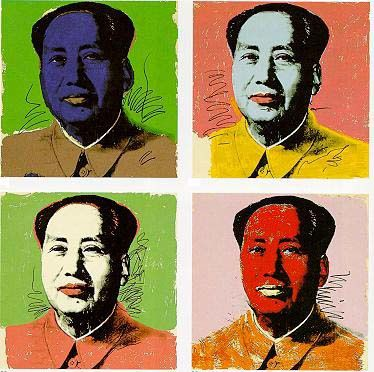 [FOOT] OL LAND - Page 18 Andy-Warhol-Mao--1972