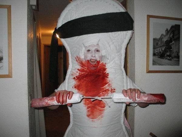 Troll on me ! Costume-tampon-tampax-regle-sang