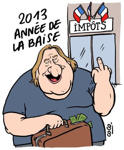 Depardiou citoyen d'honneur d'Estaimpuis ! 406691_454628047929909_210316326_n