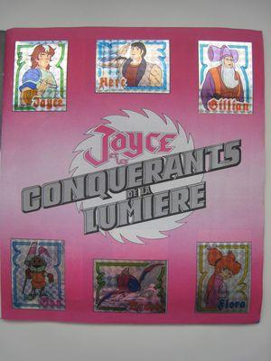 Jayce et les Conquérants de la Lumière (MATTEL) 1985  Panini_6117