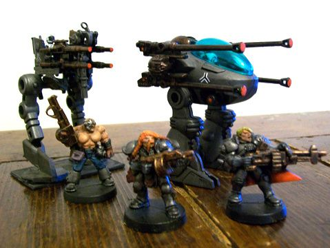 space marines Camminatori-imperiali