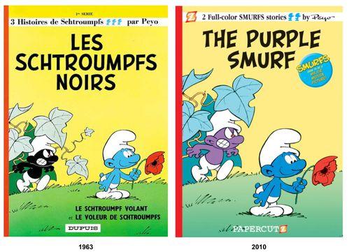 Les Schtroumpfs - Page 2 Les-Schtroumpfs-Noirs---The-purple-smurf