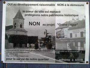 93 Romainville Romainville-village-affiche