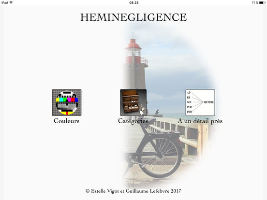 Application sur l'héminégligence Sc552x414