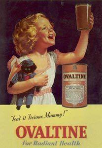 Les affiches du temps passé quand la pub s'appelait réclame .. - Page 3 Ovomaltine