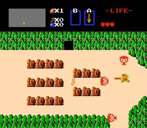 Votre premier jeu-vidéo ? Zelda-1