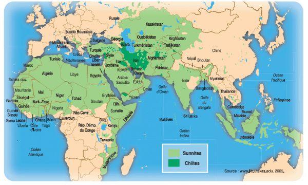 À qui appartient Israël (ou: qui est le peuple élu-choisi) ? - Page 3 Carte_monde_islam-Agoravox