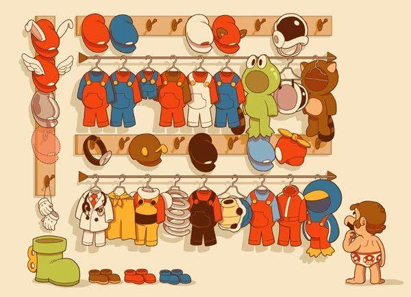 Mario a 25 ans (quels sont vos meilleurs moment à ses coté ?) Mario-wardrobe
