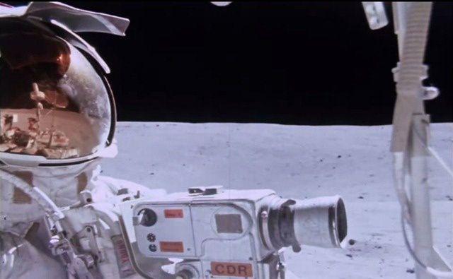 Voici une vidéo réalisée par des astronautes d'Apollo 16 (1972) 206