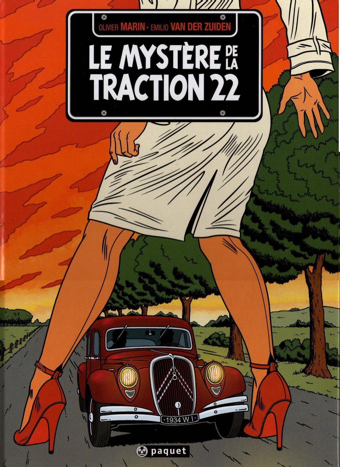 [Librairie] Livres, BD et autres dédiés à l'automobile Myst-re-Traction-22-1