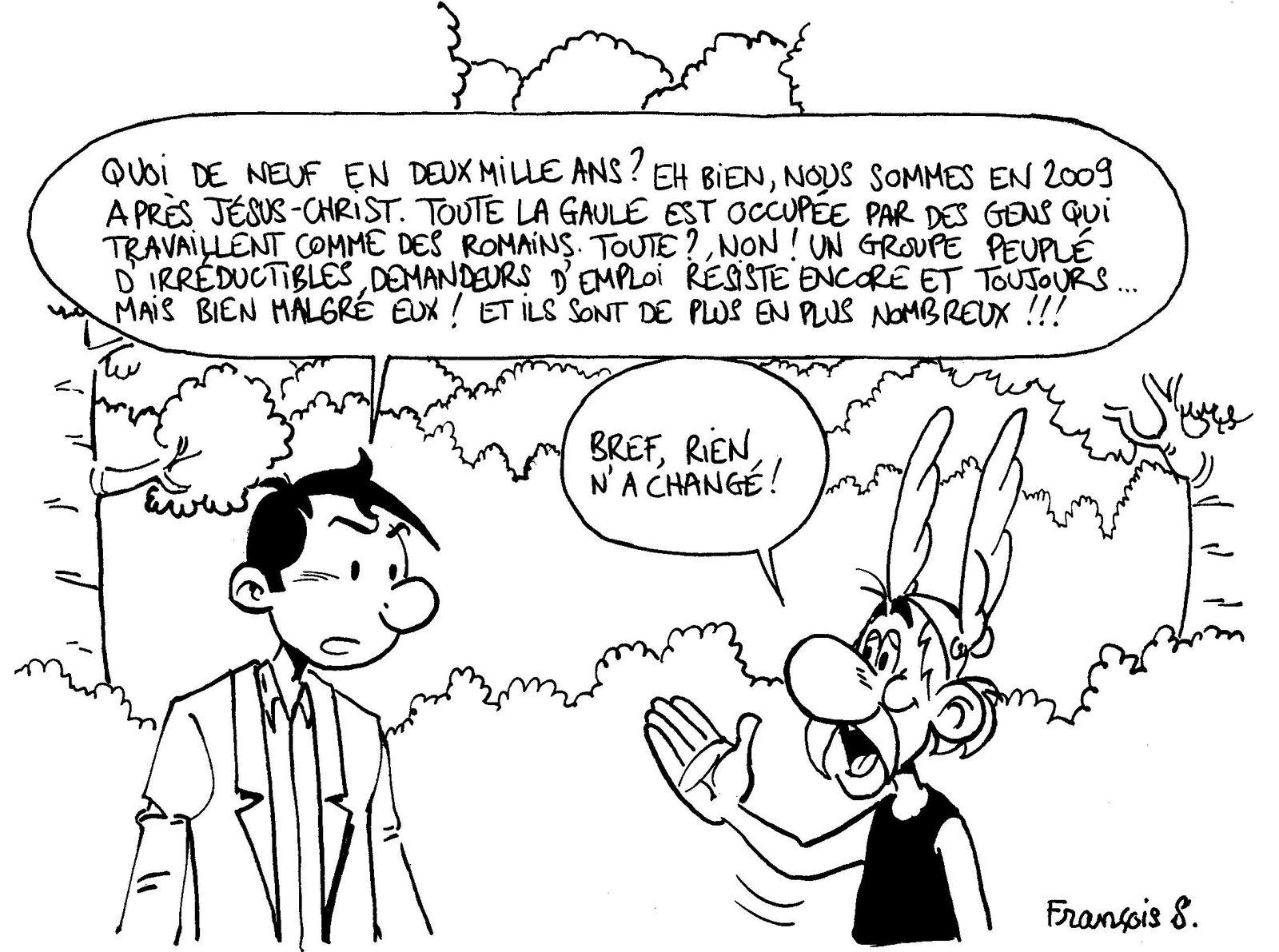 Pastiches, detournements, plagia de vos personnages préférés ! - Page 6 Luc-Lemploy---Rencontre-avec-Ast-rix