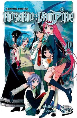 Shonen: Rosario + Vampire [Ikeda, Akihisa] Rosario-Vampire-tome-10