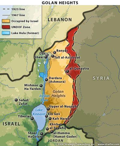 Israël s'empare du sous-sol du Golan syrien occupé Golan-israel
