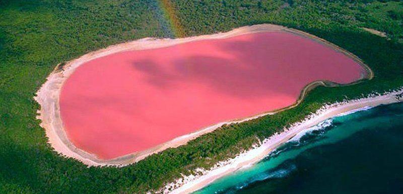 La couleur rose de l'eau du Lac Hillier toujours sans explication... K174-copie-1