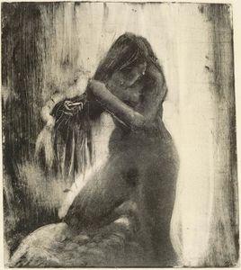 [Expo] Les archives du rêve - Musée de l'Orangerie / Paris Degas-Femme-nue-se-coiffant