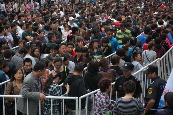 L'image du jour : 10 000 chinois font la queue pour acheter de l'or  000000000000000000000000000000000000