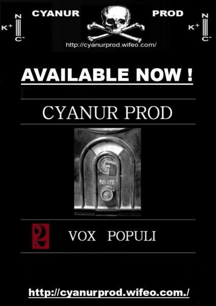 V/A VOX POPULI Disque II [Cyanur prod 35 CP 035] L