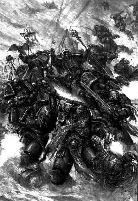 [W40K] Collection d'images : Space Marines L