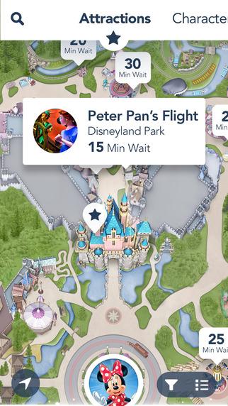 Application Disneyland Paris officielle sur iPhone, Android et iPad - Page 21 Screen322x572