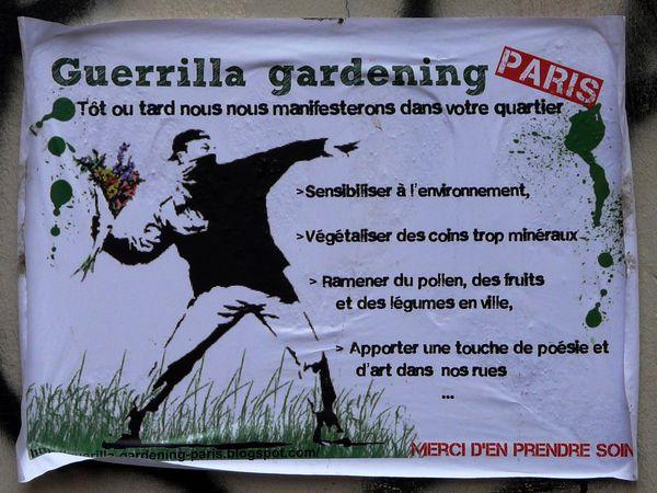 Nouvelle rubrique : quelques règles Guerilla-verte-Legouve-affiche