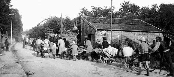 6 Juin 1944 .... Exode-11