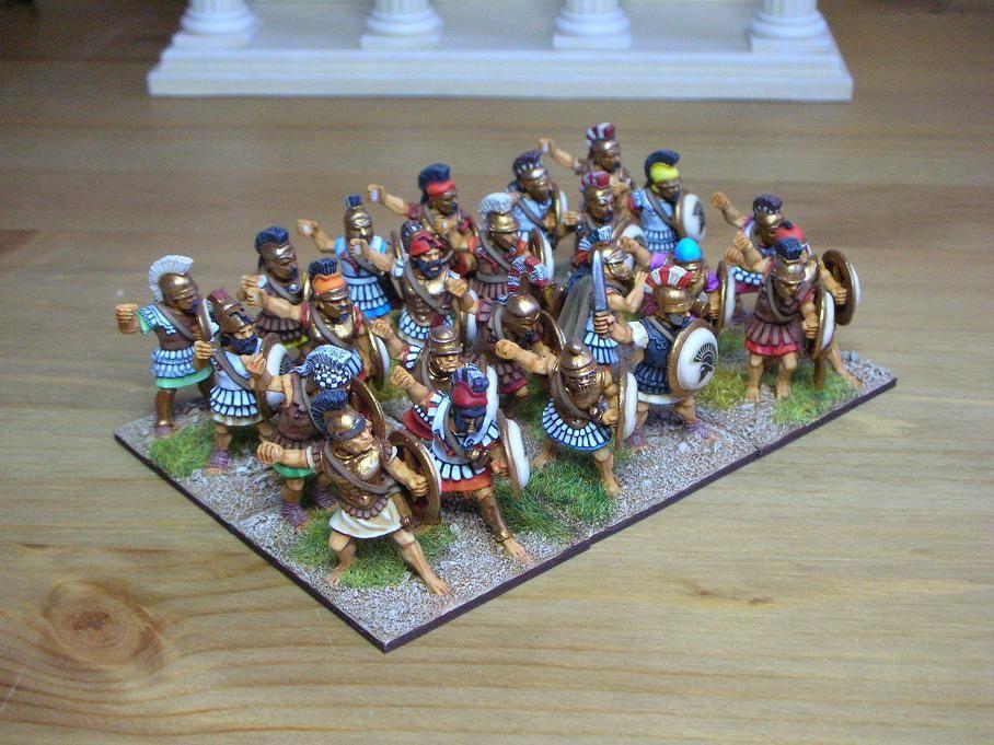 Des grecs hellenistiques Hoplites_1