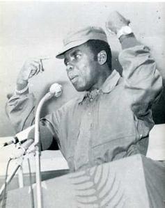 Galinskiy - Comandante Marien Ngouabi, presidente de la República Popular del Congo Marien0