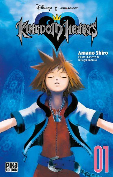 Les News Kingdom-Hearts-1-manga