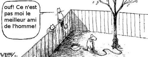 Grrrrr ! les chiens à l'attache .... Thank-God-comic